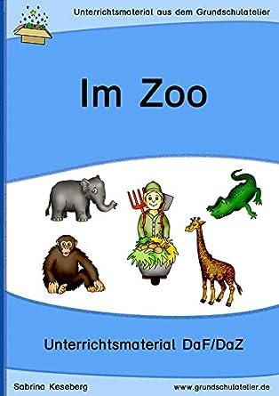 Im Zoo (Unterrichtsmaterial für Deutsch als Fremdsprache, DaF - CD ...