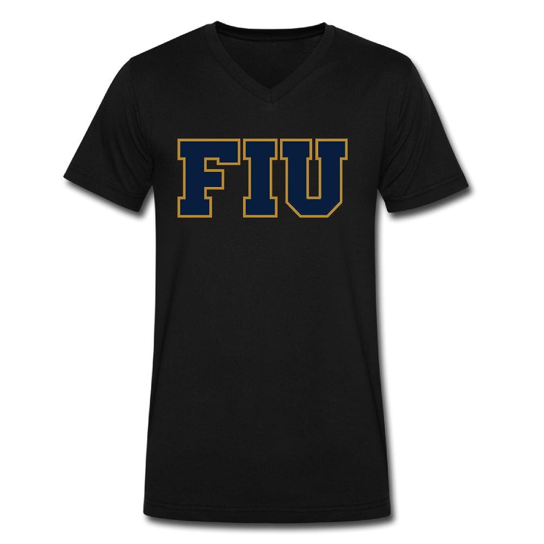 Weibing22 Florida International University Man's Tee-shirts Crew-neck Cheap Cute Unique