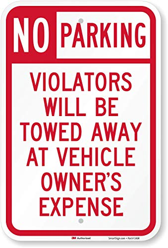 Towed Parking Sign -