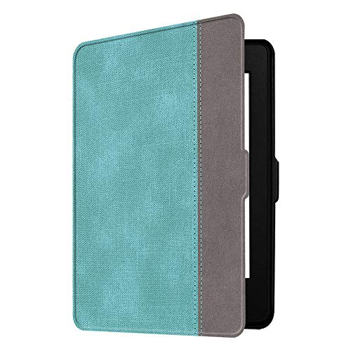 Fintie Slimshell Case for Kindle Paperwhite - Fits All Paperwhite Generations Prior to 2018 (Not Fit All-New Paperwhite 10th Gen), Turquoise