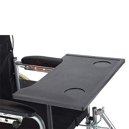 WLIXZ Mesa para bandejas de sillas de Ruedas, para Personas con Movilidad Reducida, Lectura