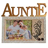 Gift Garden Auntie Picture Frame 3.5x5 Photo Frames Tabletop Display for Birthday Gifts, Anniversary Gifts