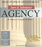 Sum & Substance: Agency (The ''Outstanding Professor'' Audio Tape Series)