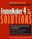 FrameMaker 4 for UNIX Solutions, Helena Fernandez Jerney and John Jerney, 0471590762