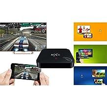 Dragonbest MX3 (MXIII) Quad Core Android 4.4 TV BOX 1G RAM + 8G Rom, full Loaded KODI (know as XBMC, 4K Smart TV BOX, 3D-HD Blu-ray Streaming Media Player