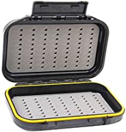 Waterproof Double-layer Fly Box Lure Baits Storage Case for Fly Fishing Flies