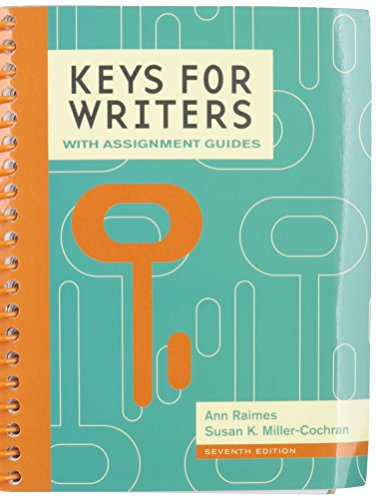 Bundle: Keys for Writers with Assignment Guides, 7th + MindTap English Printed Access Card