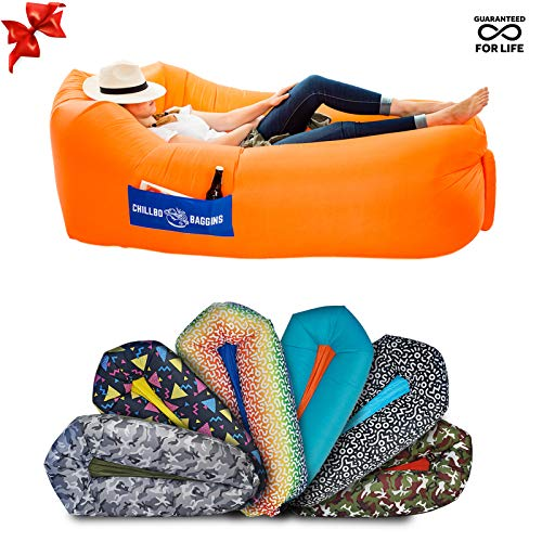 Chillbo Baggins Chillbo Baggins 2.0 Best Inflatable Lounger Hammock Air Sofa and Pool Float Ships Fast! Ideal Summer Gift Air Lounger for Indoor or Outdoor Use or Inflatable Lounge for Camping Picnics & Festivals price tips cheap