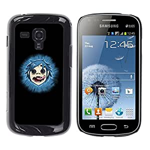 TECHCASE**Cubierta de la caja de protección la piel dura para el ** Samsung Galaxy S Duos S7562 ** Gorillas
