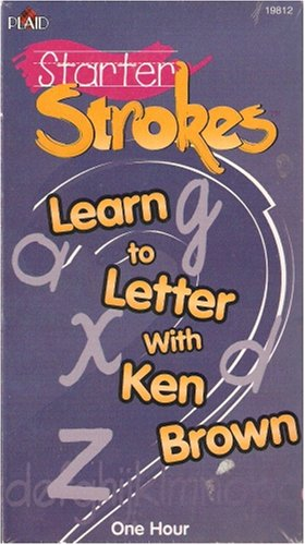 Starter Strokes-Learn to Letter with Ken Brown