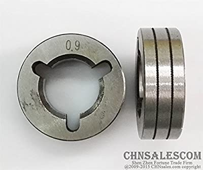 CHNsalescom Wire Feed Drive Roller Kunrled Groove 0.9mm .035