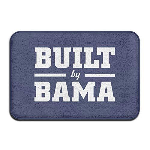 - Alabama Built Bama Funny Logo Gift Home Welcome Mat Doormat Outdoor Funny