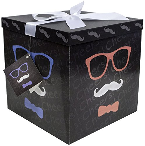 Mustache Gift Tags (Gift Box 10