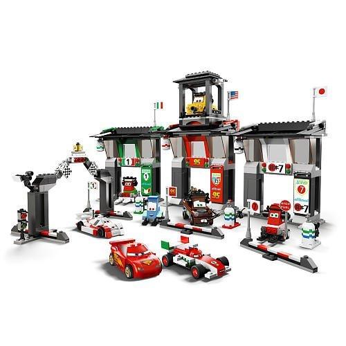 LEGO Disney Cars Exclusive Limited Edition Set #8679 Tokyo International Circuit 8F11E9E6