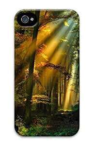 Beautiful and tranquil2 PC Case Cover for iPhone 4 and iPhone 4S 3D New Year gift