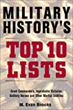 Military History's Top 10 Lists, M. Evans Brooks, 0517221748