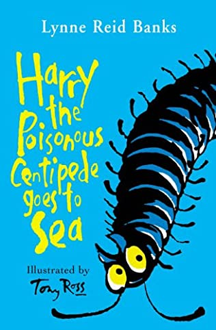 book cover of Harry the Poisonous Centipede Goes To Sea