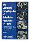 Complete Encyclopedia of Television Programs 1947-1979, Vincent Terrace, 0498021777
