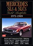 Mercedes Benz SL and SLC : Gold Portfolio, 1971-1989, Clarke, R. M., 1855200104
