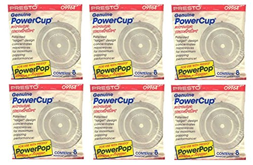 Genuine Powercup Microwave Concentrators 48 Pack