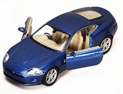 - KiNSMART Jaguar Xk Coupe, Blue 5321 D 1/38 Scale Diecast Model Toy Car