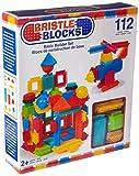 Battat Bristle Blocks 112-Piece Basic Building Set