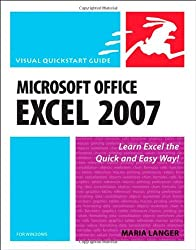 Microsoft Office Excel 2007 for Windows (Visual QuickStart Guides)