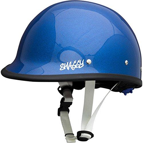 Shred Ready Shaggy Kayak Helmet Metallic Blue, One Size