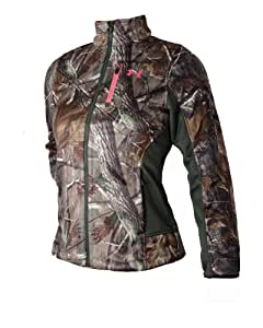 Under Armour Women's Camo Deadcalm Scent Control Hunting Jacket (Realtree AP, S)