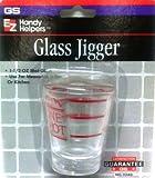 EZ Handy Helpers Glass Jigger
