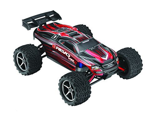 Traxxas E-Revo VXL Elec 4WD Ready to Run Toy with TSM (1/16 Scale), Colors May ()
