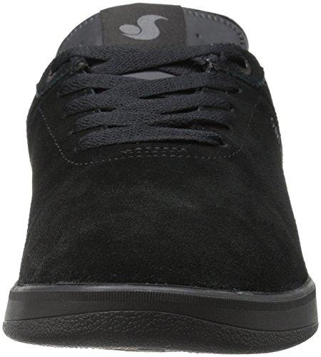 DVS Mens Rico SC Skateboarding Shoe, Black Suede Chico, 10 M US