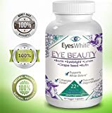 Eye Whitening Vitamin Supplement with Eyebright & Lutein. Natural Eye Care