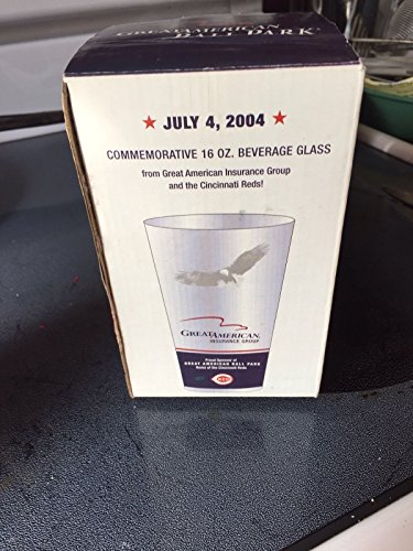 Cincinnati Reds 2004 Great American Ballpark Drinking Glass