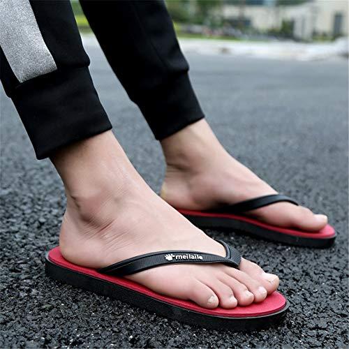 Playa 41 Rojo EU Unisex Rojo Chanclas Superiores De Wangcui Color 1 Zapatos tamaño Transpirables 3 6XTRFwqW
