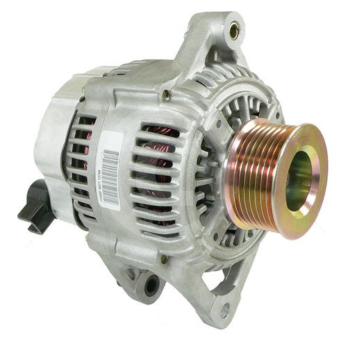 HIGH OUTPUT ALTERNATOR 2001-2000 1999 Dodge Ram Pickup 5.9L Diesel 250 HIGH AMP with 8 groove pulley (High Output Alternator Dodge Ram compare prices)