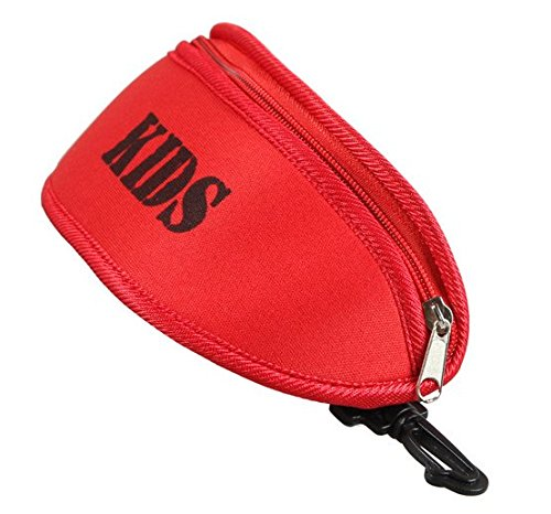 Huachnet Kid's Eyeglass Sunglasses Case Holder (Red)