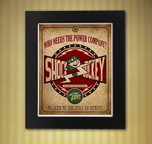 Bioshock Infinite Shock Jockey Vigor 8 x 10 print