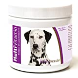 Healthy Breeds Dog Multivitamin and Mineral Soft Chews for Dalmatian - OVER 200 BREEDS - For Small Medium & Large Breeds - Easier Than Liquid or Powders - 60 Chews