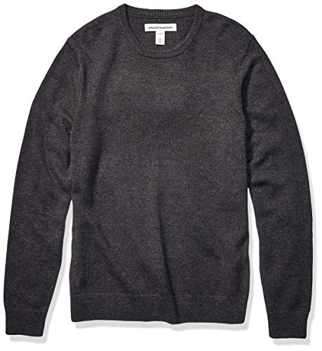 Amazon Essentials Men's Midweight Crewneck Sweater, Charcoal, X-Large