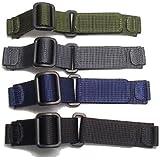 [ウェンガー]WENGER 腕時計 純正ナイロンベルト 黒色(ブラック) プルダウンよりお好みのお色をお選びくださいませ。