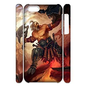 Cell phone 3D Bumper Plastic Case Of Soldier For iPhone 5C