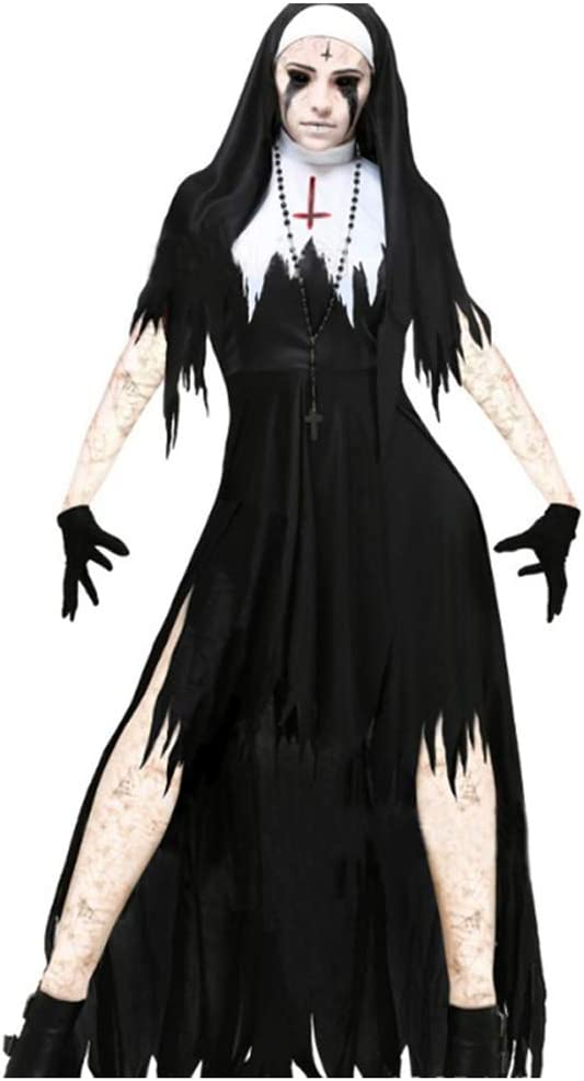 Ropa de Fantasma de Terror de Halloween, Zombie Death Adult Blood ...