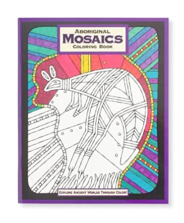 mind ware aboriginal mosaic coloring book - Mosaic Coloring Book