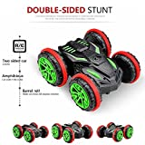 Cheerwing RC Stunt Car 2.4Ghz 4WD Remote Control Vehicle Amphibious Off Road Race Car Double Sided Car Tank