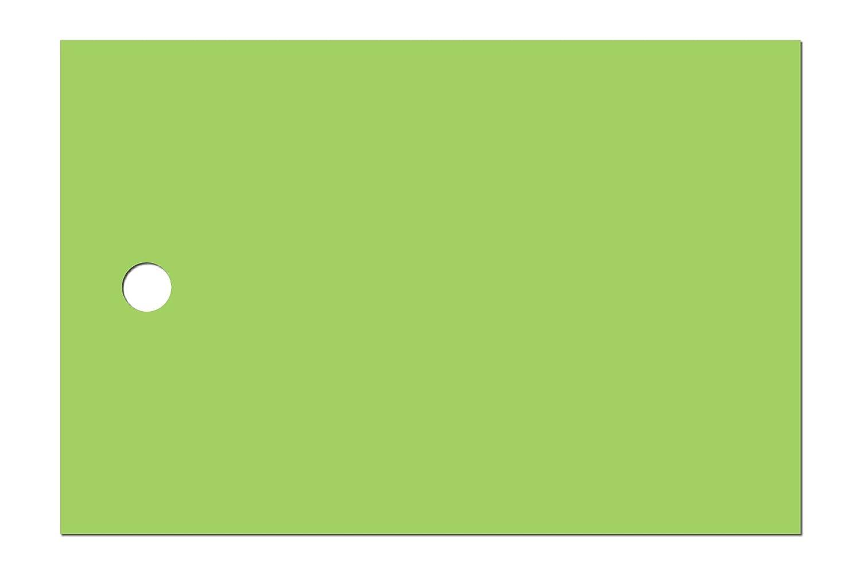 Anhänge-Etiketten AEB-60-40-1000 - 60x40 60x40 60x40 mm - grün (32) Fein-Karton gerippt ca. 225g m² - Lochstanzung 4 mm - beidseitig gut beschreibbar - hohe Stabilität - 1000 Stück B01NC2Y1NI | Qualitätsprodukte  3d2e91