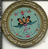 $1 soaring eagle saginaw chippewa indian casino token tribe of michigan red
