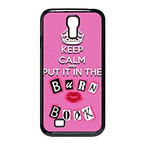 The Burn Book Mean Girls movie Samsung Galaxy S4 I9500 Scratch-proof Case Cover Custom Durable Stylish Pink Phone Case at Big-dream