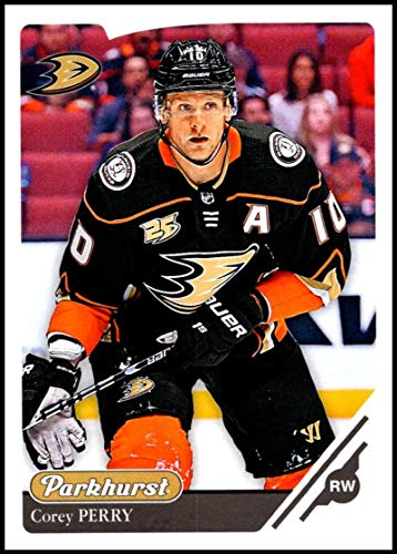 2018-19 Upper Deck Parkhurst #305 Corey Perry Anaheim Ducks Official NHL Hockey Trading Card