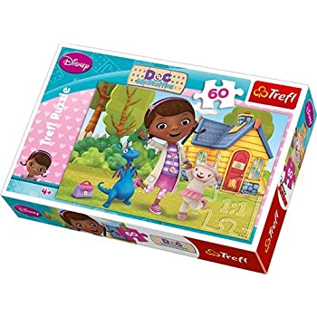 Amazon Com Doc Mcstuffins Carry And Go Jigsaw Puzzle In